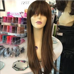 Accessories - Long bangs wig color 4/27/30 new 2018 style Wig